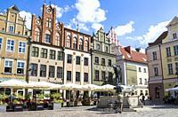 Old Town Square, Poznan, Poland.