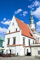 Waga miejska, Poznan, Poland.