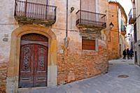 street, Tivissa, Catalonia, Spain
