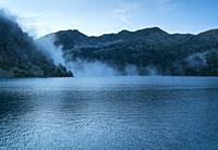 Lac d'Aubert, Néouvielle Nature Reserve, Vallée d'Aure, L'Occitanie, Hautes-Pyrénées, France, Europe.