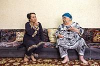 Uzbekistan, Bukhara, women.