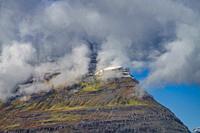 Mountain Landscape, Reydarfjordur, Iceland.
