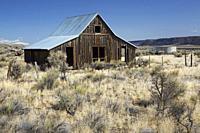Ranch barn, Lakeview District Bureau of Land Management, Oregon.