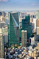 Japan, Tokyo City, Shimbashi district.