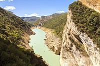 Congost de Montrebei, Serra del Montsec, La Noguera, Lleida, Spain.