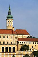 Czech Republic, Moravia, Mikulov, castle, chateau,.