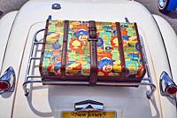Ready to travel, Antique car show , Northeast Philadelphia , PA, USA.