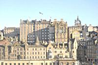 Olds buildings of the city of Edinburgh