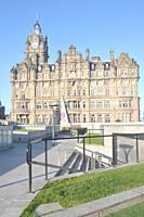 Balmoral Hotel and Tourism office in Edinburgh