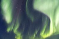 United States, Alaska, Arctic National Wildlife Refuge, Kaktovik, Northern light.