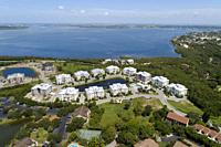 Palma Sola Bay Club resort style condo condominium residential housing development.