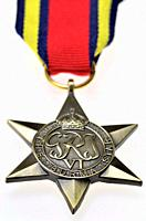 The Burma Star - Second World War medal instituted May 1945 for subjects of the British Commonwealth who served in the Second World War, specifically ...