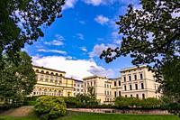 The congress center in Riga, Latvia, Baltic States.