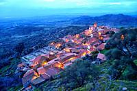General view of Monsanto village, Monsanto, Castelo Branco, Portugal.