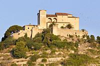 Santuari de Sant Salvador and walls, Arta, Majorca, Balearic Islands, Spain