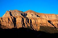 Peña Mondarruego on the Ordesa valley. Ordesa y Monte Perdido national park. Huesca.