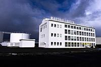 The Marshall House in Reykjavik, Iceland.