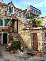Modest Peasant house, Veli Varos, Split, Croatia.