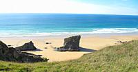 Bedruthan Steps, Cornwall.