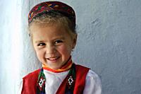 Girl from the Wakhan valley ( Tajikistan). She is a nizari ismaili. Ismailism is a branch of shia islam, ismailism itself is divided in 15 branches. T...
