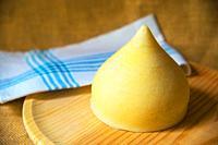 Tetilla cheese. Galicia, Spain.
