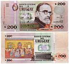 200 pesos banknote, Pedro Figar, Uruguay, 2011.