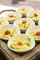 Couscous bowls.