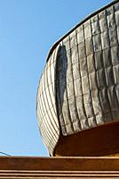 Details of the Auditorium in Rome, Project by Architect Renzo Piano, Accademia Nazionale di Santa Cecilia, Italy.