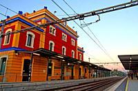train station of Caldes de Malavella, Girona, Catalonia, Spain
