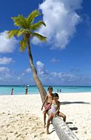 Beautiful beach, Saona Island, Dominican Republic. Saona Island is located in the extreme southeast of the Dominican Republic. It is part of the Easte...
