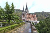 Covadonga, Picos de Europa, Asturias, Spain, Europe.
