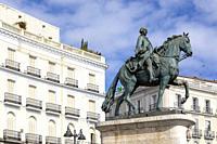Madrid, Puerta del Sol, Spain, Europe.