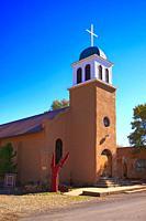 Saint Joseph Church in Los Cerrillos, NM.