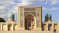 Uzbekistan; Tashkent, Hazrati Imam Complex, Barak Khan Madrasah,.