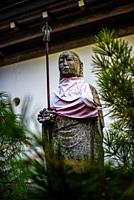 Statue in the streets of Koyasan, Japan.