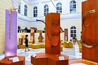 Musical instrument exhibition. National Museum of Slovenia. Ljubljana. Slovenia, Europe.