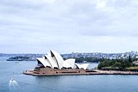 Iconic Sydney Opera House, Sydney Harbour, Sydney, New South Wales, Australia.