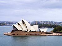 Iconic landmark of Australia, Sydney Opera House, Sydney, New South Wales, Australia.