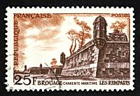 French postage stamp.