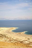 Dead Sea Shoreline in Israel.