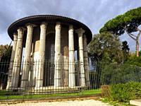 The Temple of Hercules Victor or Hercules Olivarius is a Roman temple in Piazza Bocca della Veritá, in the area of the Forum Boarium close to the Tibe...