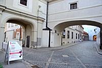 Passages in Stare Miasto, Warsaw, Poland.