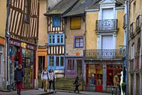 France, Britanny, Ille et Villaine, old part of Rennes.