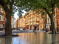 Carlos Place - London, England.