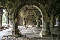 Armenia, Debed Canyon, Sanahin, Sanahin Monastery, 10th century, interior.
