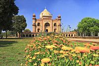 Safdarjung Tomb, New Delhi, India.