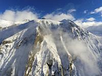 Mountains in Aragnouet, Hautes-Pyrenees, Occitanie, France.