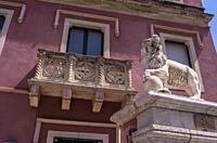 Hotel La Pensione Svizzera, Via Luigi Pirandello, Taormina, Sicily, Italy.