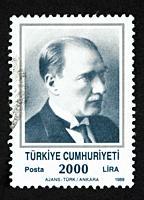 Turkish postage stamp.