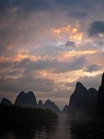 China Guilin Li River.
